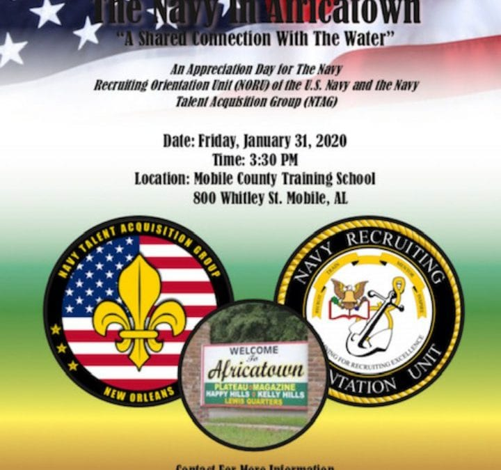 The Navy in Africatown
