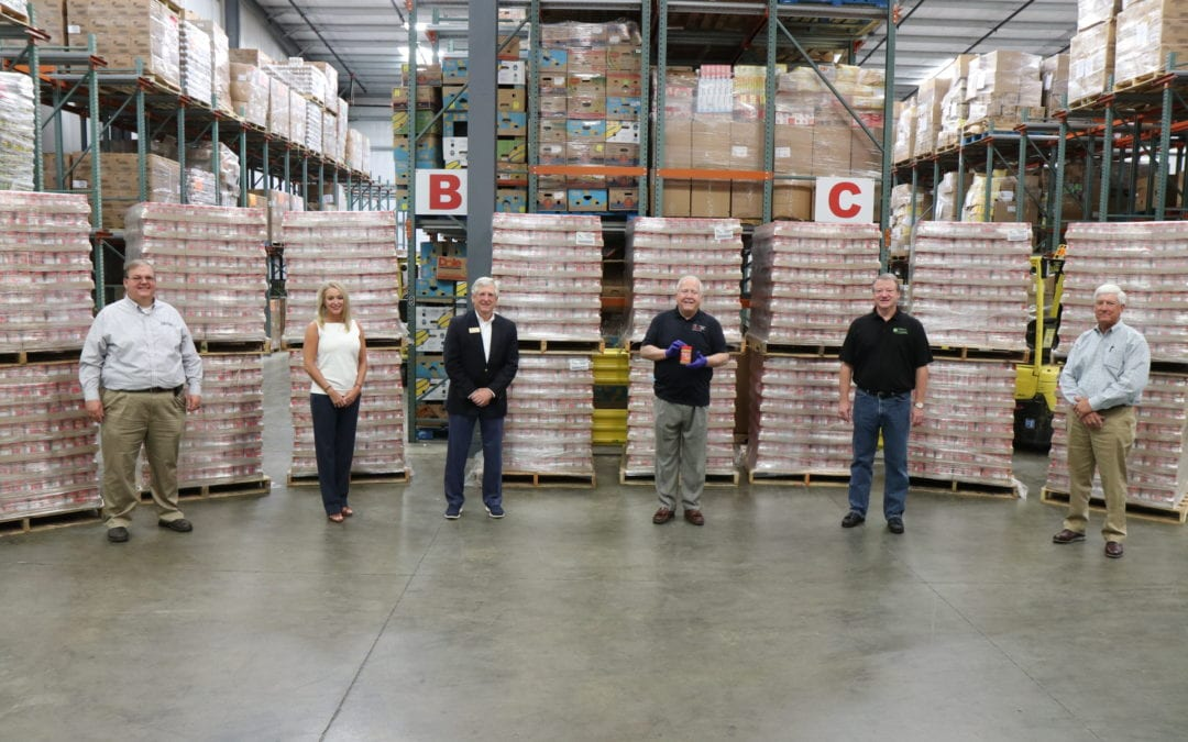 Alabama Food Bank Association Receives Peanut Butter from the Alabama Peanut Producers Association